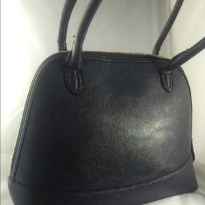 "Handbags - Vegan leather ""Doctor bag"" expanding handbag"
